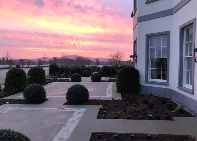 Garden for New Build in Midlands, Ireland