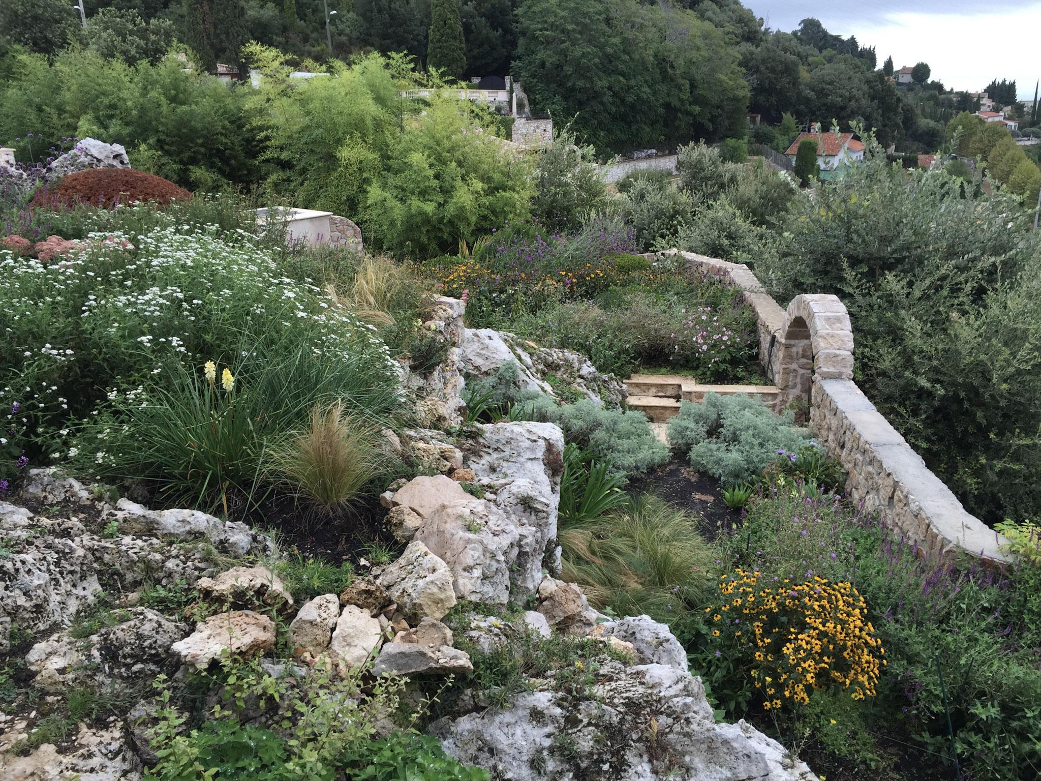 French Riviera – Garden in the Hills